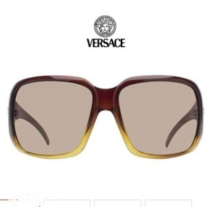 Versace tortishell sunglasses